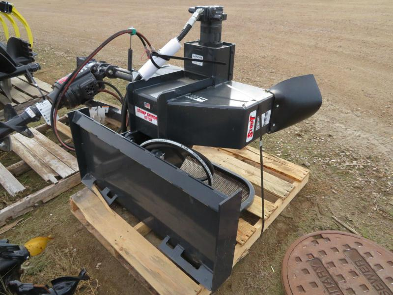 New Stout SG13-R Stump Grinder for Skid Steer