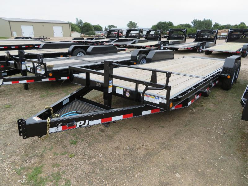 2020 PJ Trailers 22 HD Tiltbed Equipment Trailer