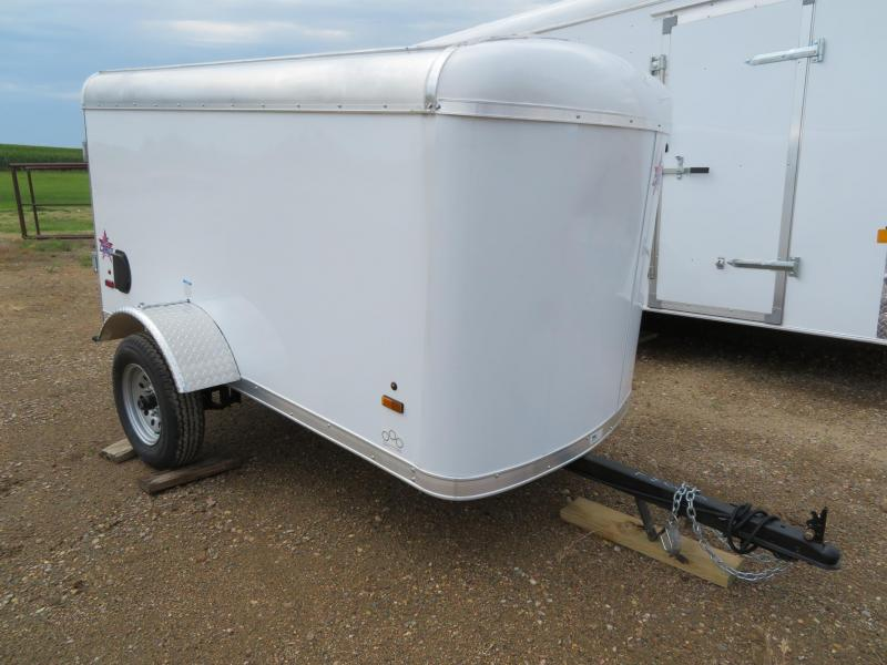 2020 US Cargo 4 x 8 Enclosed Cargo Trailer