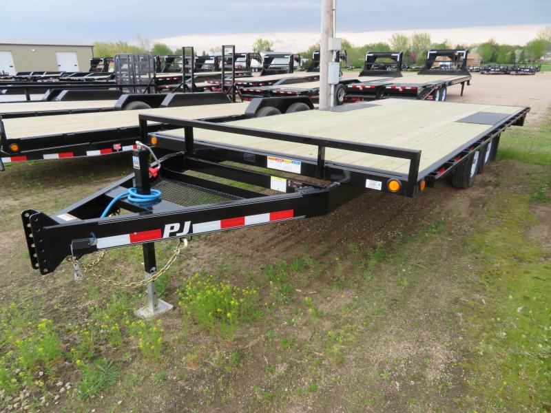 2020 PJ Trailers 20 Medium Duty ATV Deckover Trailer
