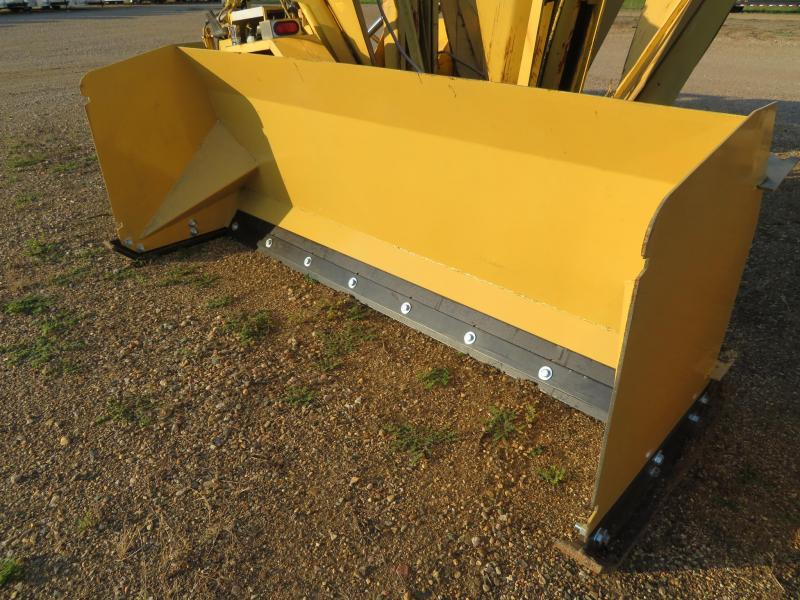 "Yellow 93"" Skid Steer Snow Pusher"