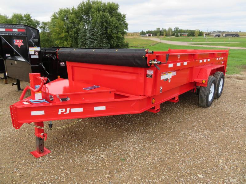 2020 PJ Trailers 16 Low Profile Dump Trailer