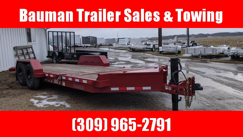 2019 Midsota USED TB-20 Tilt Flatbed Trailer