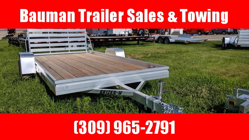 2020 Aluma 6812ESW Utility Trailer