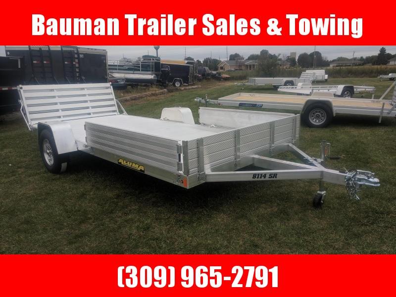 2021 Aluma 8114 BT Utility Trailer