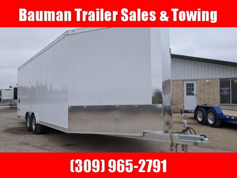 2020 Haulmark Venture 8.5X28 Toy Hauler All Aluminum