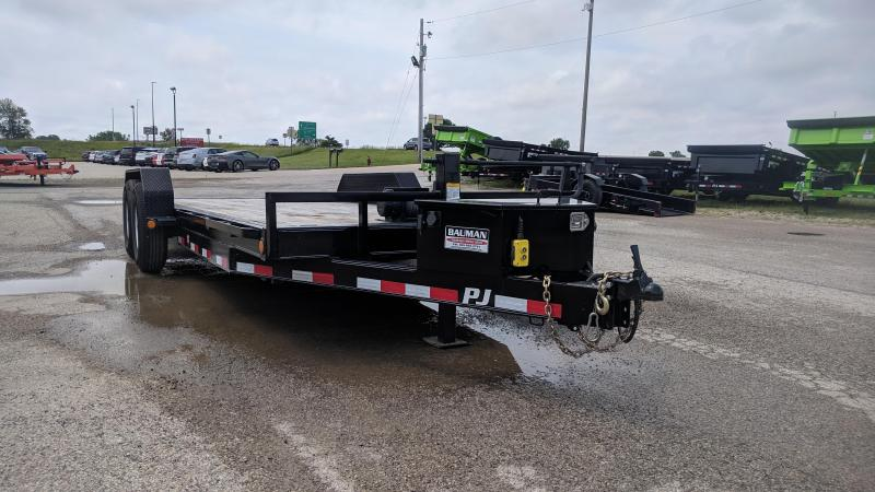 Used 2019 PJ Powered Full Tilt (TF) Equipment Trailer