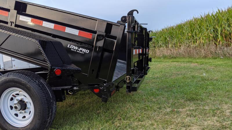 2020 PJ Trailers 83 x12 Low Pro Dump (DL) Dump Trailer