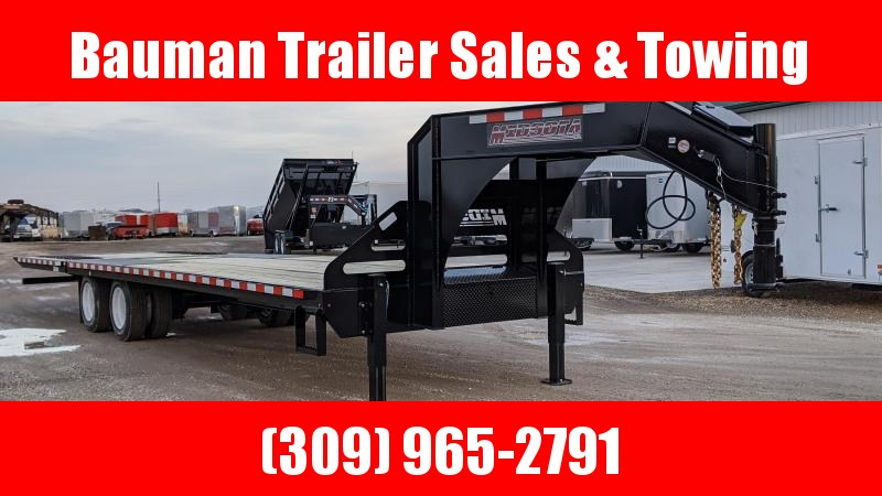 2020 Midsota FB32GN HYDRAULIC DOVE TAIL Flatbed Trailer