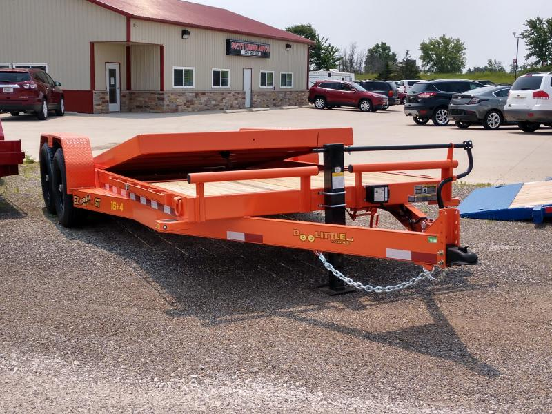 2019 Doolittle Trailer Mfg 20FT EZ Loader GT 14K Flatbed Trailer