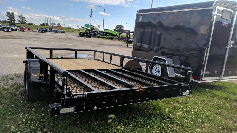 2020 Doolittle 77x12 Utility Single Axle