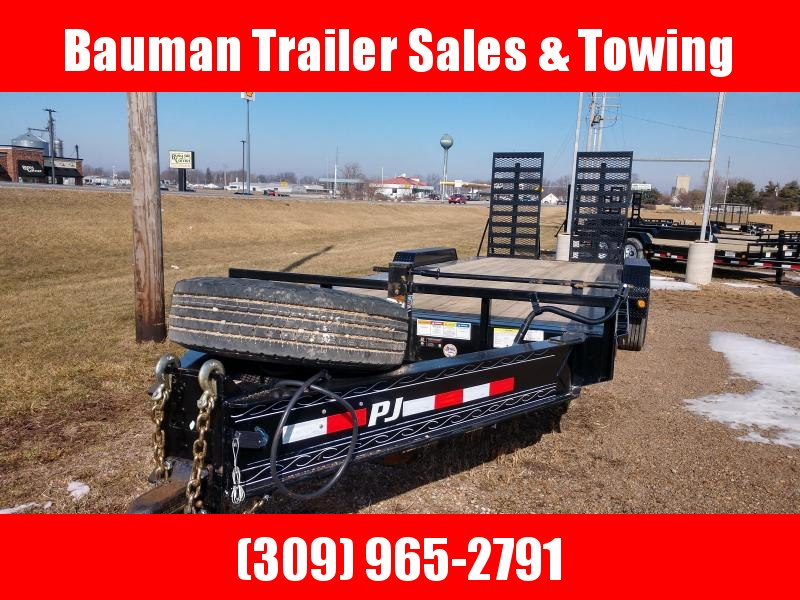 "Heavy Duty 2019 22FT  PJ Trailers 10"" Pro-Beam Equipment (H5) Equipment Trailer"