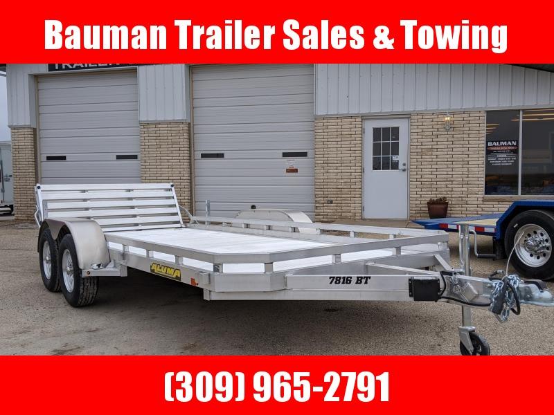 2020 Aluma 7816 BT Utility Trailer
