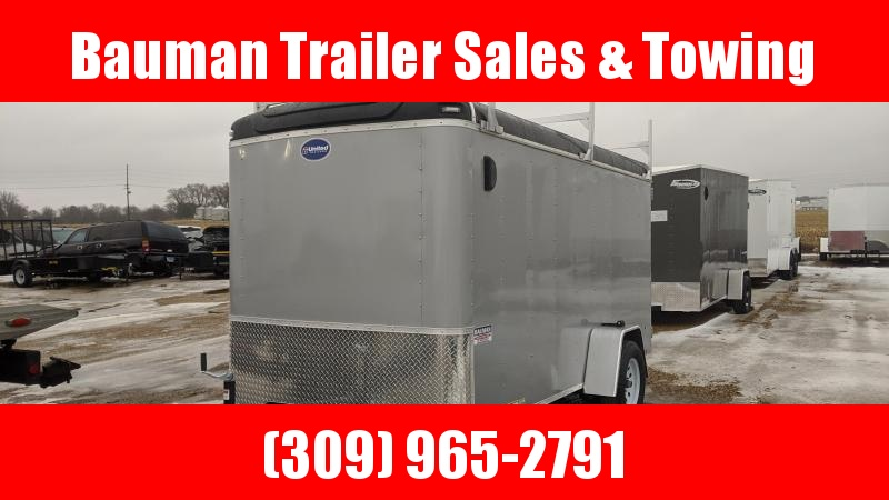 2020 United Trailers ULH 6 x 12 ft. Contractor trailer Enclosed Cargo Trailer