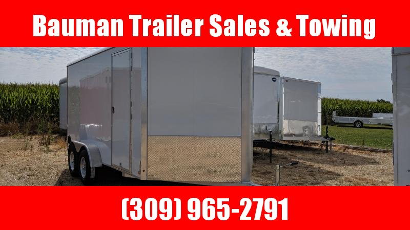 2020 Aluma AE714TAR Enclosed Cargo Trailer