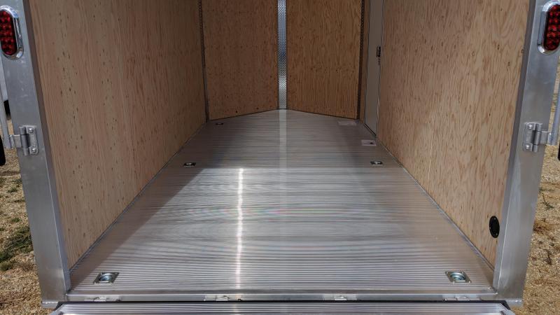 2020 Aluma AE714TAR Enclosed Cargo Trailer