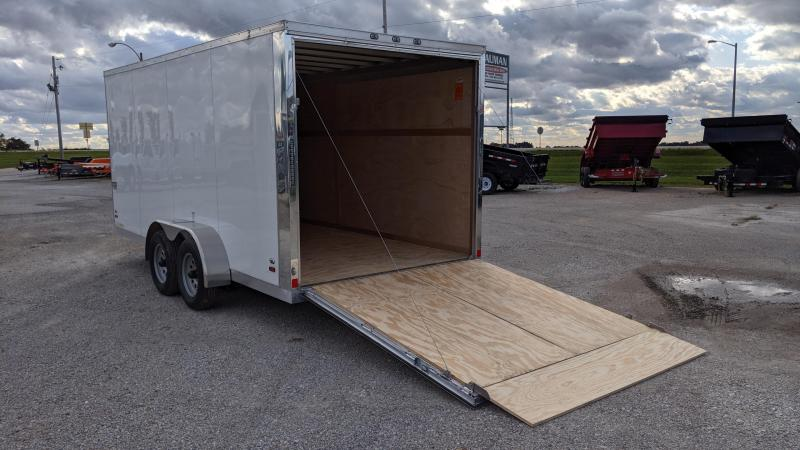 2019 Ameralite ALL ALUMINUM ATMT 7X16 Enclosed Cargo Trailer
