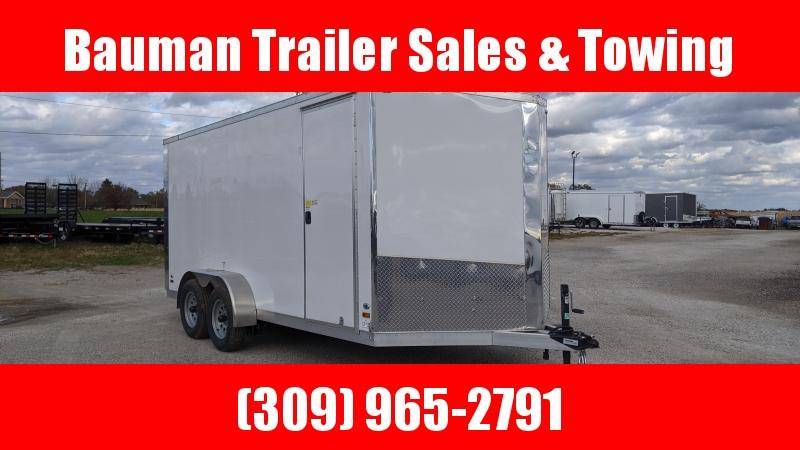 2019 Ameralite ALL ALUMINUM ATMT 7X16 Enclosed Cargo Trailer