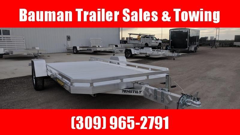 2020 Aluma 7814STilt Utility Trailer