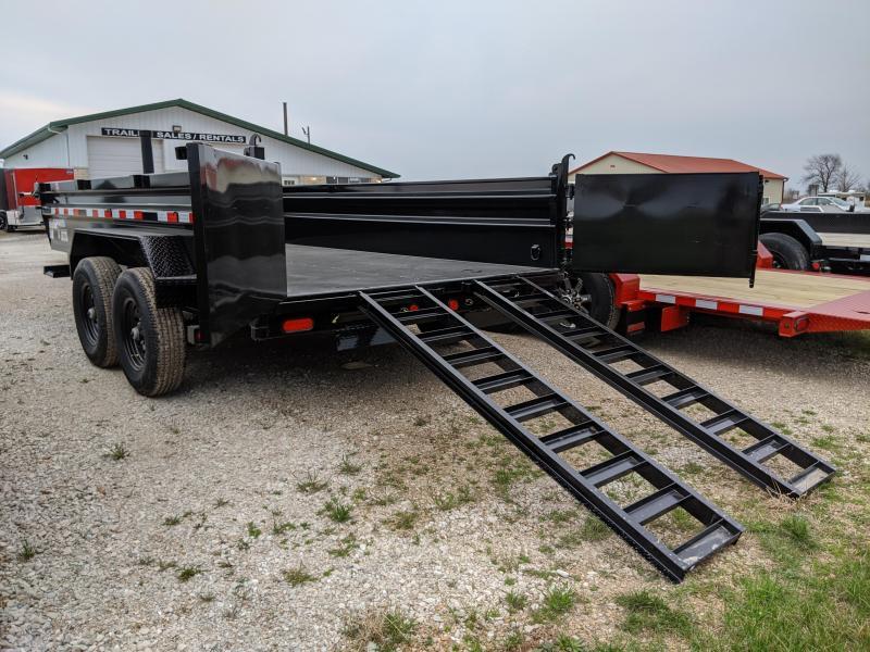 2020 PJ Trailers 83X14 Low Pro Dump (DL) Dump Trailer