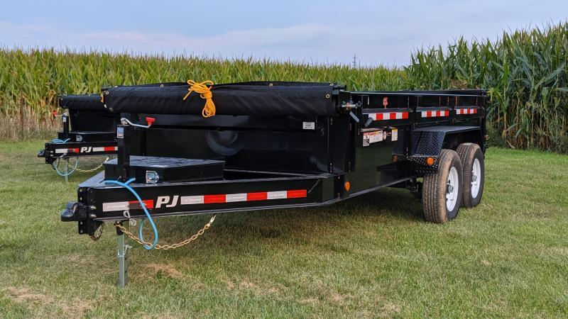 2020 PJ Trailers 83X14 Low Pro Dump (DL) Dump Trailer