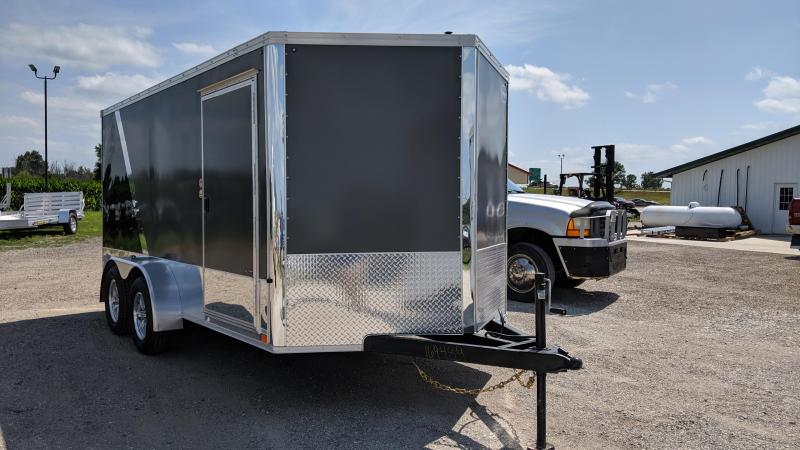 2020 United Trailers XLMTV-714TA35-8.5 Motorcycle Trailer