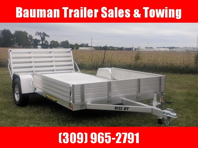 2020 Aluma 8112 BT Utility Trailer