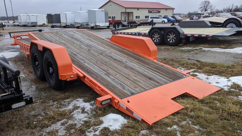 2019 Doolittle Trailer Mfg EZ Loader GT 22FT TILT 14K Flatbed Trailer