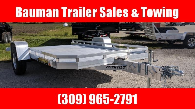 2021 Aluma 7712H Tilt Utility Trailer