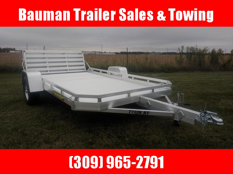 2020 Aluma 7712H BT Utility Trailer