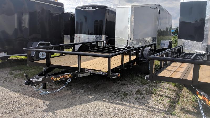 2019 Doolittle 77x12 Utility Single Axle
