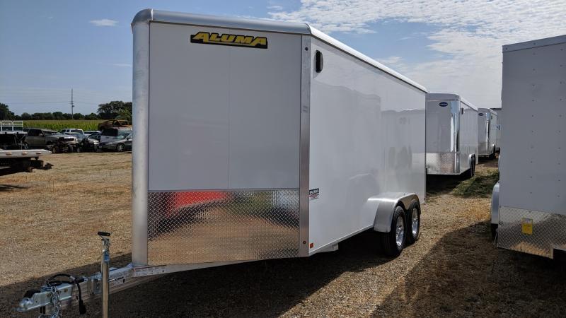 2020 Aluma AE716TAR Enclosed Cargo Trailer