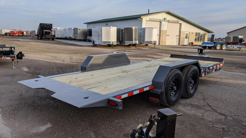 2020 Midsota TB-20 14PLY TIRES Flatbed Trailer
