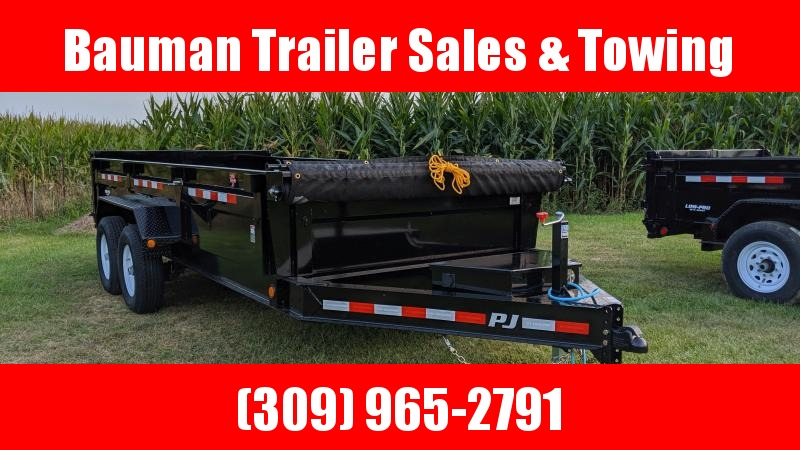 2020 PJ Trailers 83 X16 Low Pro Dump (DL) Dump Trailer