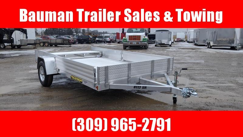 2021 Aluma 8112SR Utility Trailer