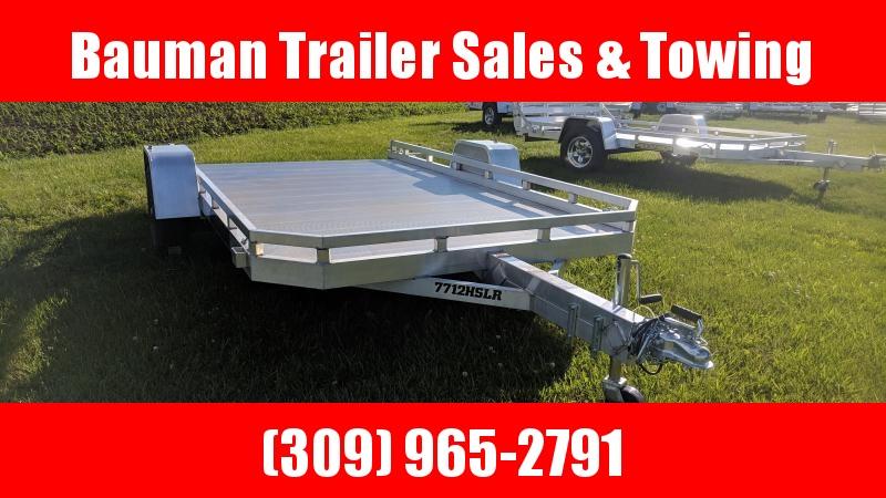 2021 Aluma 7712HSLR Utility Trailer