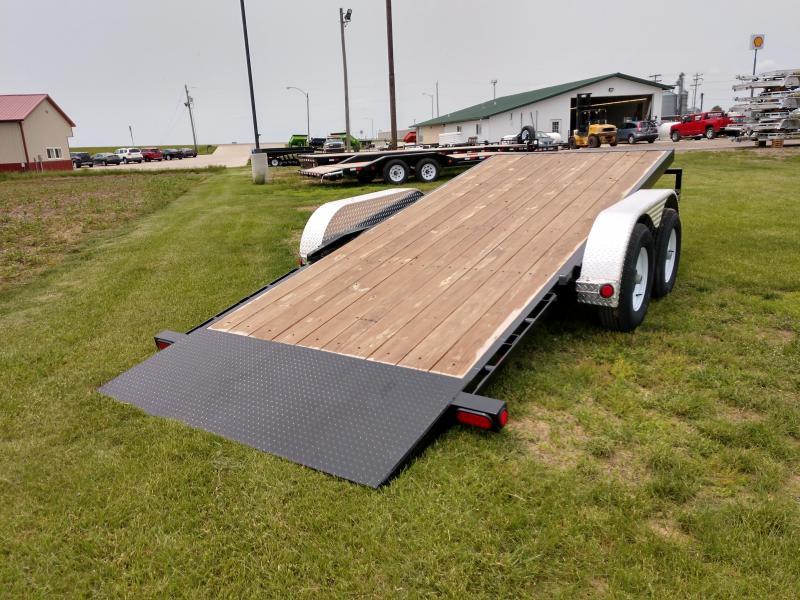 USED 2019 PJ Trailers 5 in. Channel Tilt Carhauler (T5) Car / Racing Trailer