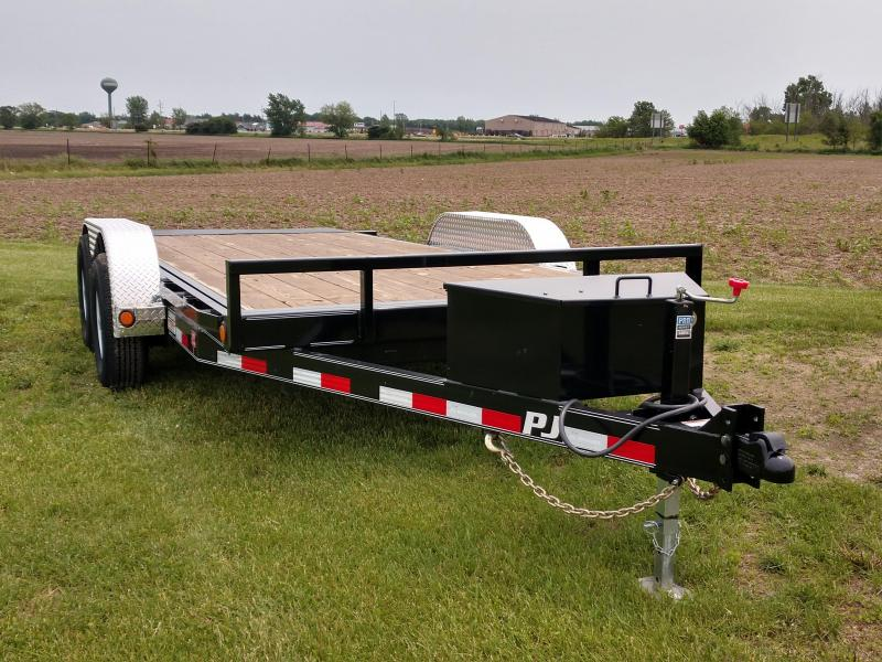 USED 2019 PJ Trailers 5 in. Channel Tilt Carhauler (T5) Car / Racing Trailer