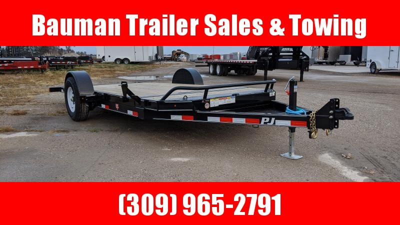 2020 PJ Trailers Single Axle HD Tilt (T1) Flatbed Trailer