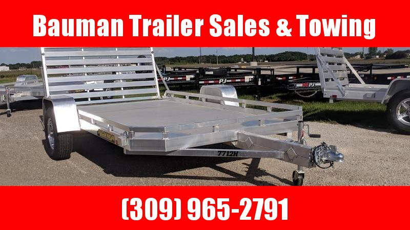 2021 Aluma 7712H Utility Trailer