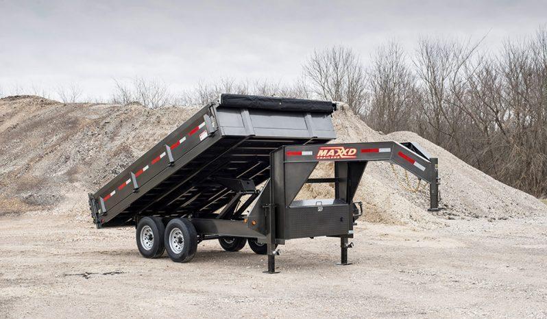 "2020 MAXXD D9X - 96"" Deckover Dump Trailer Dump Trailer"