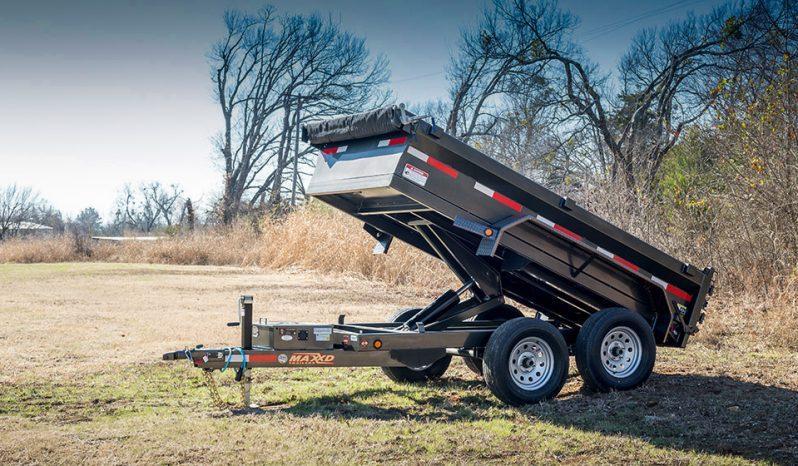 """2020 MAXXD D6X - 60"""" Scissor Lift Dump Trailer Dump Trailer"""