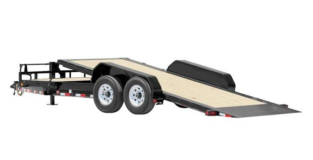 2019 PJ Trailers HD Equipment Tilt 6 in. Channel (TJ) Equipment Trailer 20'