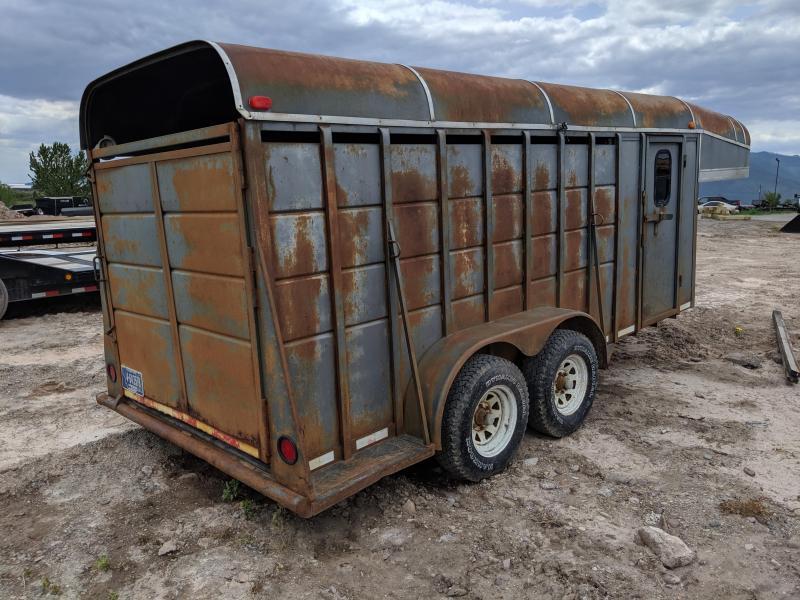 1994 El Paso GN Livestock Trailer