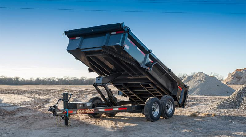 2020 MAXXD DLX - 83 Ultra Low Profile Dump Trailer Dump Trailer