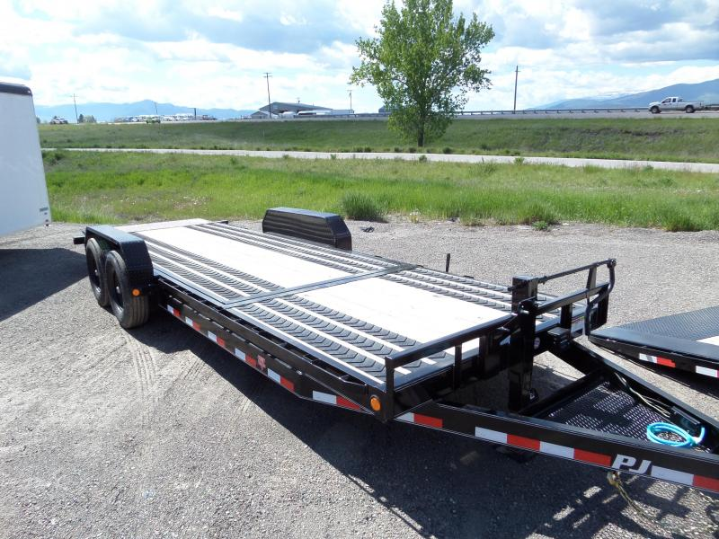 2020 PJ Trailers 6 in. Channel Equipment Tilt (T6) Equipment Trailer