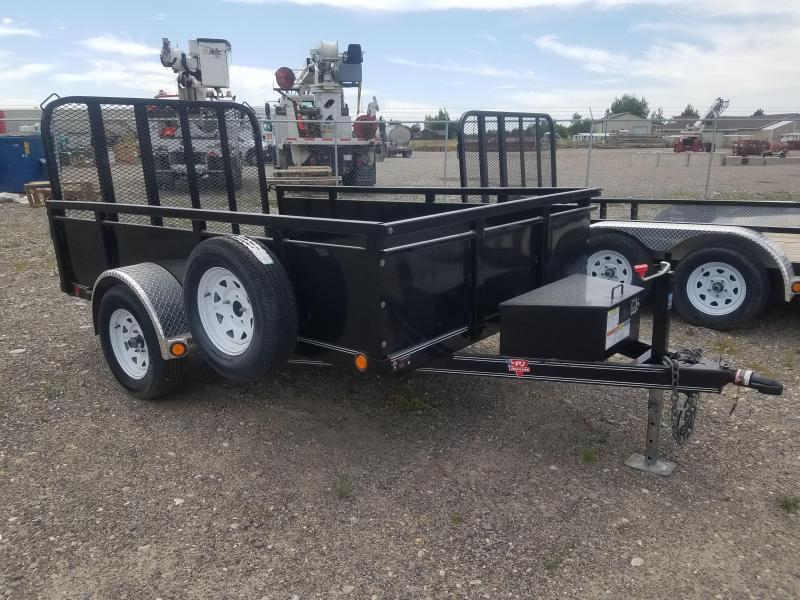 2018 PJ Trailers 77 in. Single Axle Channel Utility (U7) Utility Trailer
