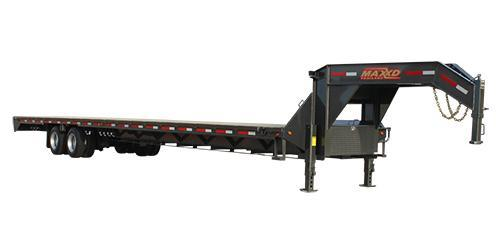 2019 MAXXD GDX - Tandem Dual Flatbed Gooseneck Flatbed Trailer