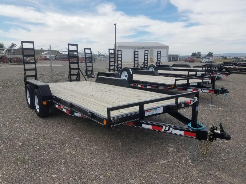 2018 PJ Trailers 5 in. Channel Equipment (CE) Equipment Trailer