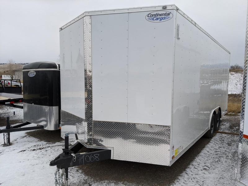 2020 Continental Cargo VHW820TA3 Auto Enclosed Cargo Trailer